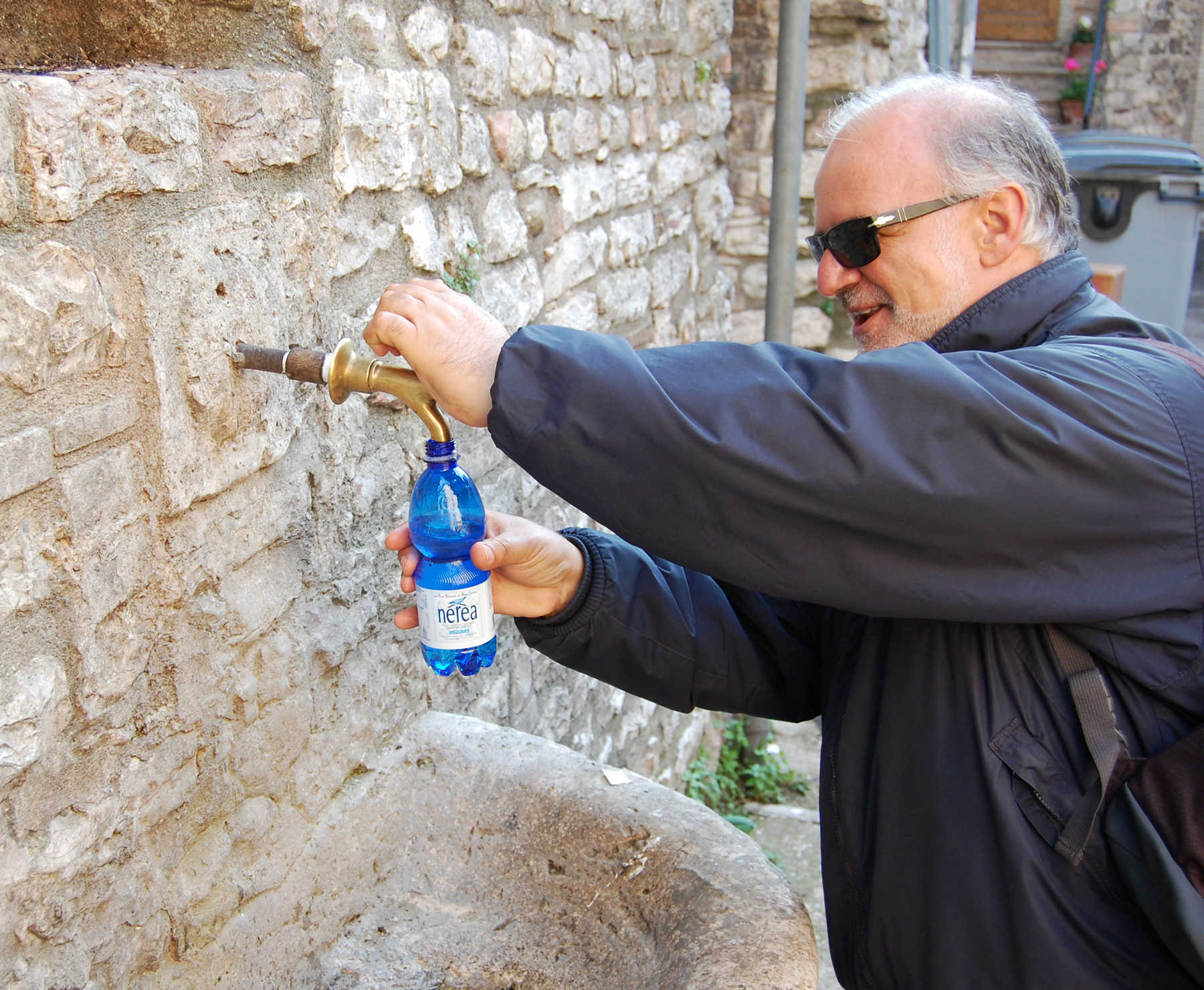 Public Drinking Water, Assisi, Italy