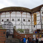 Globe Theatre Exterior, London, England