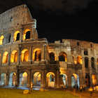 Colosseum Exterior Night, Rome, Italy