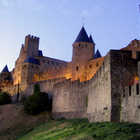 Fortified City Walls, Carcassonne, Languedoc, France