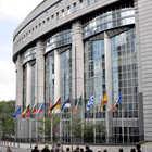 European Parliament Exterior, Brussels, Belgium
