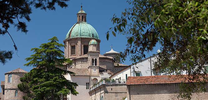 Cupola exterior, Basilica of San Vitale, Ravenna, Italy