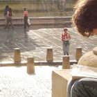 A boy in Paris