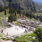 Theater, Delphi, Greece