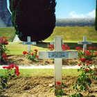 WWI Graves, Verdun, France