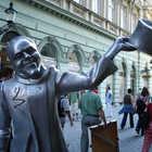 Statue in Bratislava, Slovakia