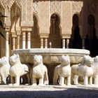 Courtyard of the Lions, Alhambra, Granada, Spain