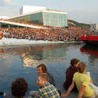 Outdoor Crowd, Opera House, Oslo