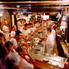 Bar Interior after Running of Bulls, Pamplona, Spain