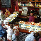 Tapas Bar Interior, Barcelona, Spain
