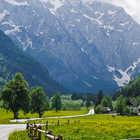 Julian Alps view, Logarska Dolina Park, Slovenia