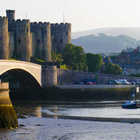 View of Conwy Castle, Wales