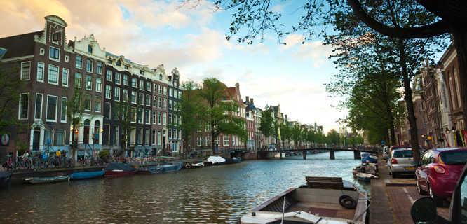 Amsterdam Canal, Netherlands