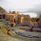Theater of Taormina, Sicily, Italy