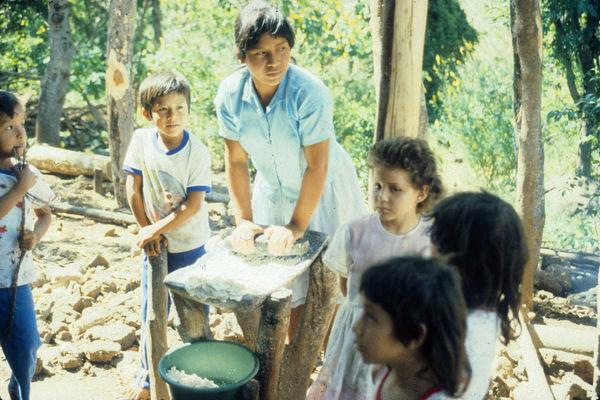 Making Flour in Nicaragua
