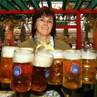 Oktoberfest Waitress, Munich, Bavaria, Germany