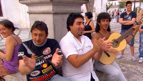 Street Musician, Granada, Andalucia, Spain