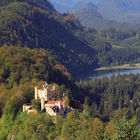 Hohenschwangau Castle Setting, Bavaria, Germany
