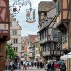 Street in Colmar, Alsace, France