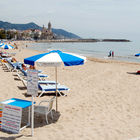 Beach at Sitges, Spain