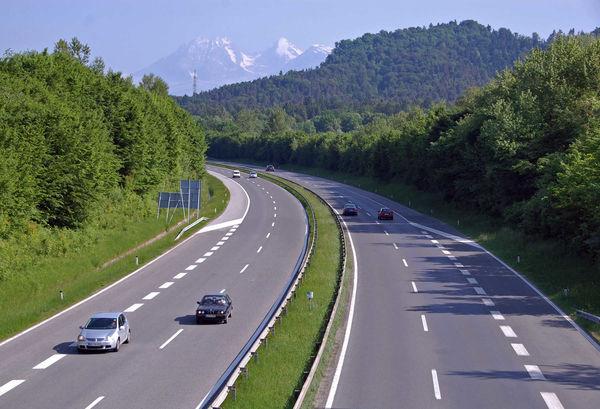 Slovenia freeway