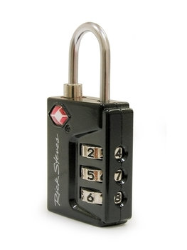 Black TSA™ Combo Travel Lock